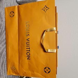 Louie Vuitton paper bag